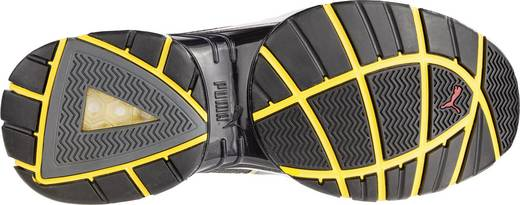 Biztonsági félcipő, S1P, 42, zöld/sárga, PUMA