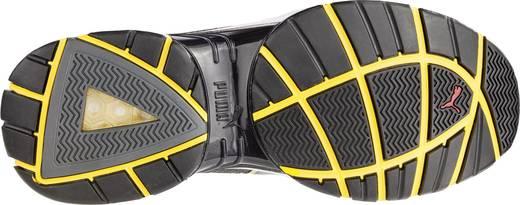 Biztonsági félcipő, S1P, 45, zöld/sárga, PUMA