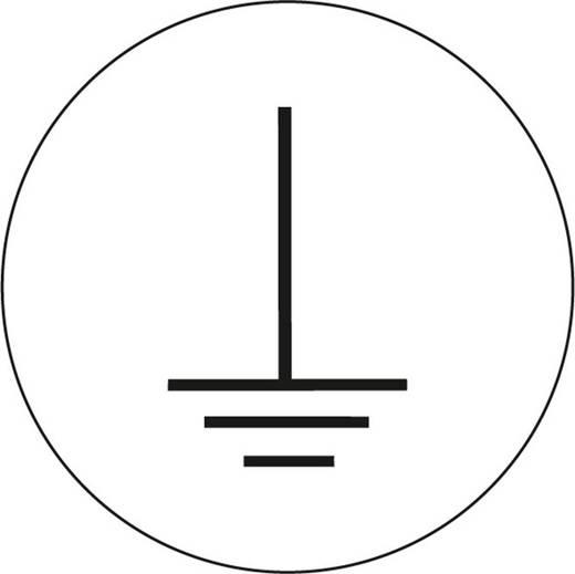 Vezeték feliratozó matrica Ø 2 cm, 500 db, 594RO2