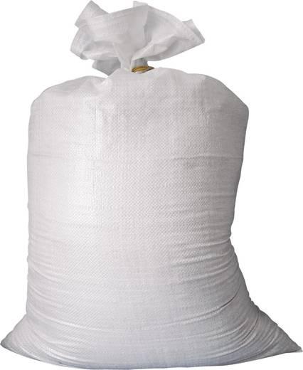 Kerti hulladékgyűjtő zsák, 10 db szövött zsák, 50L Berger & Schröter Weiß 50194