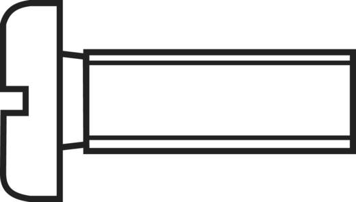 Hengeresfejű csavar M1,2 x 6 mm, rozsdamentes acél, DIN 84 888666