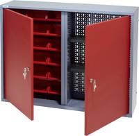 Küpper 70322 Fali szekrény 80 cm, 2 ajtó, 18 vörös doboz (Sz x Ma x Mé) 80 x 60 x 19 cm Küpper
