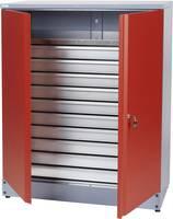 Küpper 70692 Anyag szekrény 110 cm piros (Sz x Ma x Mé) 91 x 110 x 45 cm Küpper
