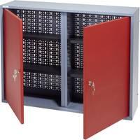 Küpper 70122 Fali szekrény 80 cm, 2 ajtó piros (Sz x Ma x Mé) 80 x 60 x 19 cm Küpper