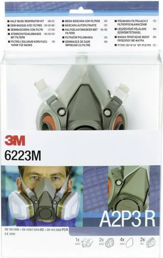 3M Gáz- és gőz ellen védő maszk készlet DE272917373 Szűrőosztály/Védelmi fok: ASP3 1 db