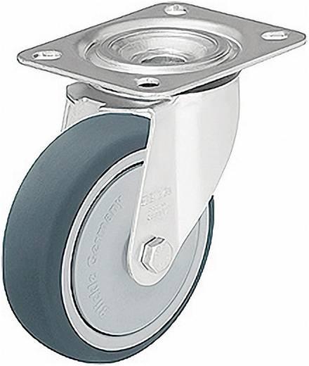 Blickle 297093 terelő és tartó görgők poliuretán futófelülettel, kivitel: terelő görgő