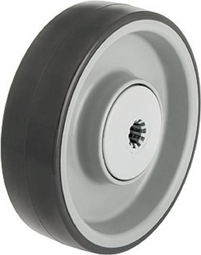 Blickle 253492 Kerék poliuretán futófelülettel, kivitel: golyóscsapágy