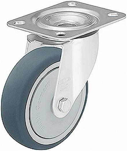 Blickle 298836 terelő és tartó görgők poliuretán futófelülettel, kivitel: terelő görgő