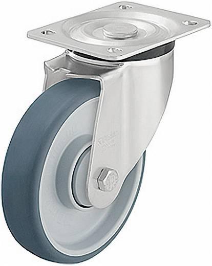 Blickle 264259 terelő és tartó görgők poliuretán futófelülettel, kivitel: terelő görgő