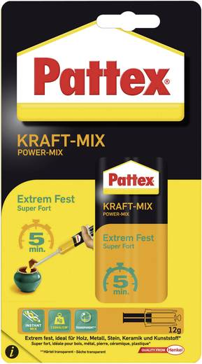 Pattex kétkomponensű ragasztó 12g Pattex PK6FS