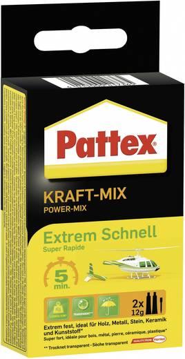 Pattex kétkomponensű ragasztó extrém gyors kötésű 24g Pattex PK6ST