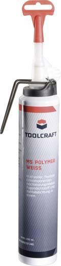 Polimer ragasztó és tömítőpaszta fehér 200ml Toolcraft
