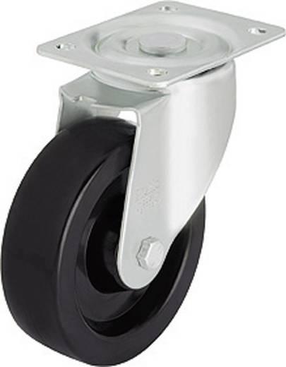 Blickle 605618 Hőálló terelő görgő, 100 mm átmérővel, csúszócsapággyal, kivitel: terelő görgő - csúszócsapágy