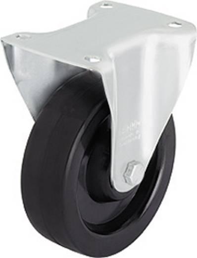 Blickle 616763 Hőálló tartó görgő, 100 mm átmérővel, kivitel: tartó görgő - csúszócsapágy