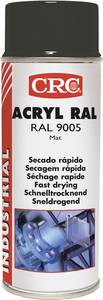 CRC akril festék, akril spray matt fekete színű 400ml RAL 9005 31075-AA (31075-AA) CRC