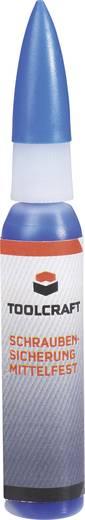 Csavarrögzítő, menetragasztó, közepes szilárdságú 4 g, TOOLCRAFT 02K43.P4BL