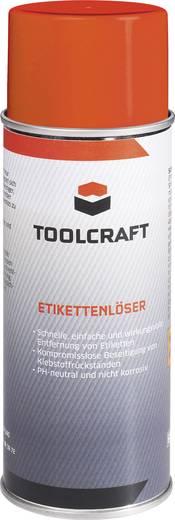Cimke és ragasztóanyag eltávolító, etikett oldó 400 ml, TOOLCRAFT AETL.D400