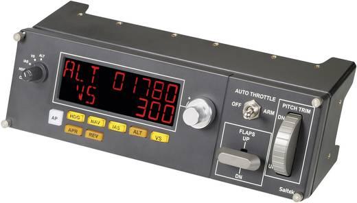 Logitech Gaming Saitek Pro Flight Multi Panel PZ70 Repülésszimulátor kontroller USB PC Sötétszürke