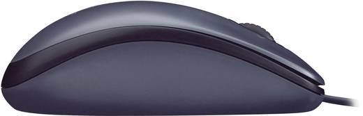 Vezetékes optikai egér, fekete Logitech M100
