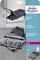 Avery-Zweckform 3562 Overhead-Projektor fólia DIN A4 Lézernyomtató, Másoló Átlátszó 25 db Avery-Zweckform