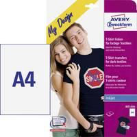 Avery-Zweckform My Design T-Shirt MD1004 Tintasugaras textilfólia DIN A4 Színes textilekhez, Tintasugaras nyomtat Avery-Zweckform
