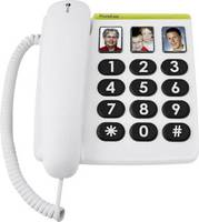 Vezetékes nagygombos asztali telefon időseknek, Doro PhoneEasy 331 PH doro