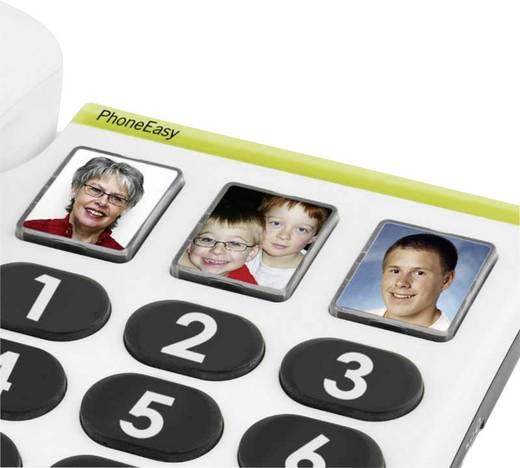 Vezetékes nagygombos asztali telefon időseknek, Doro PhoneEasy 331 PH