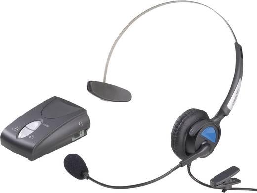 Headset asztali, vezetékes telefonokhoz RJ10-es csatlakozóval KJ-97