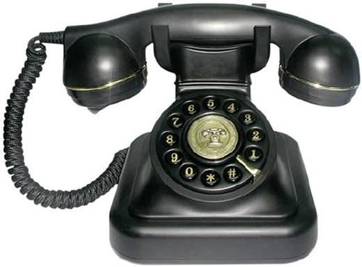 Retro telefon, fekete, SwissVoice Vintage 20