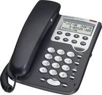 Vezetékes analóg telefon, fekete/ezüst, Audioline TEL 36 Clip Audioline