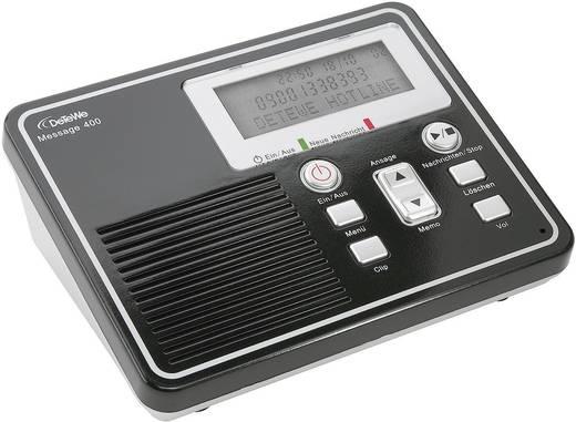 Üzenetrögzítő 30 mp rámondott szöveg hosszal és 50 perc felvételi idővel, DeTeWe Message 400