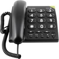 Vezetékes nagygombos asztali telefon időseknek, Doro PhoneEasy 311c doro