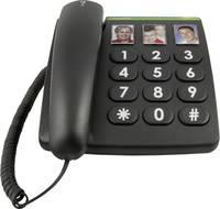 Vezetékes nagygombos asztali telefon időseknek, Doro PhoneEasy 331ph (380003) doro