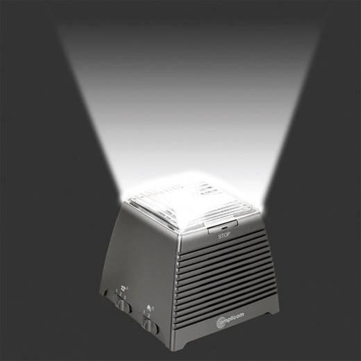 Telefonhívás jelző hallássérülteknek, villogó fény és hangjelzéssel 95 dB, Audioline RingFlash 100