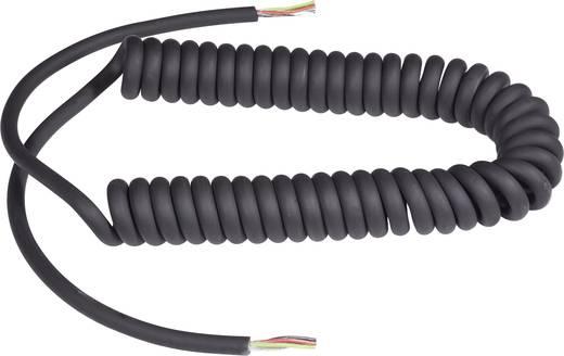 Mikrofonkábel 4 x 0.09 mm² + 1 x 0.09 mm², fekete, 2,5 m, Baude 23408L