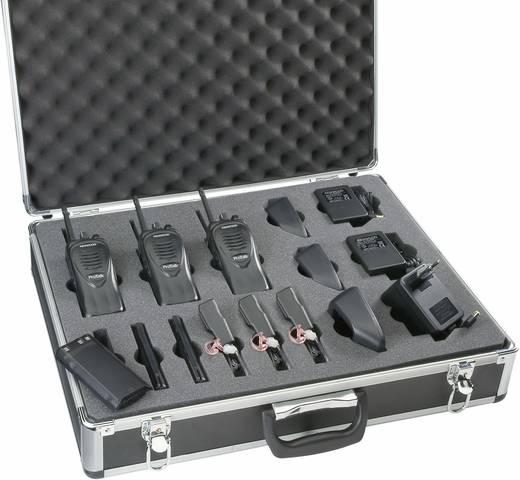 Kenwood TK-2302E2 3 részes 149MHz-es Adó-veő készlet kofferben