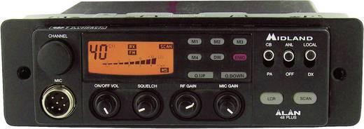 DIN rádiórekeszbe építő készlet
