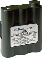 Midland PMR/LPD adó-vevő akkumulátor 6 V 700 mAh Midland PB-ATL/G7 készülékekhez C784 Midland