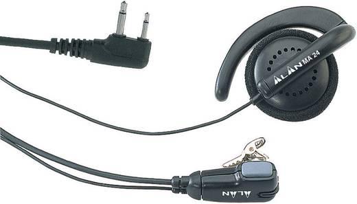 Csiptetős mikrofon/fülhallgató, Alan MA 24-L