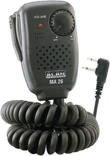 Mini hangszoró/mikrofon, Alan MA 26-L