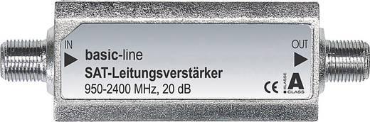 F csatlakozós antenna jelerősítő 20 dB, SVS 2-50