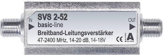 F csatlakozós antenna jelerősítő 14-20 dB, renkforce SVS 2-52