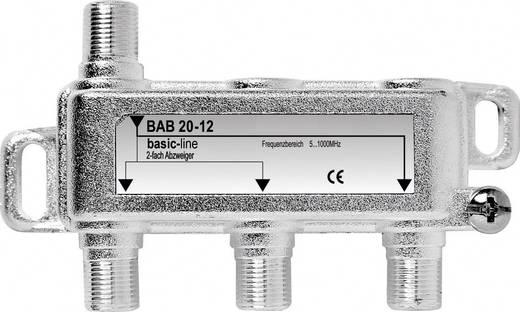 Antennajel erősítő koax F csatlakozós BAB 20-50