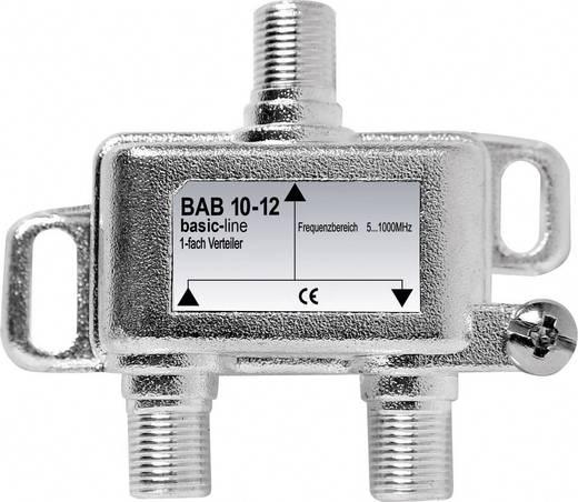 Antennajel erősítő koax F csatlakozós BAB 10-12