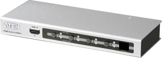 HDMI átkapcsoló, 4 portos, 4 be/1 ki, 1920x1200 pixel, ezüst, ATEN VS481A
