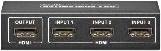 HDMI® SWITCH 3-as átkapcsoló, GOOBAY