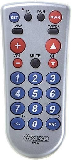 Univerzális távirányító, 2 készülékhez, Vivanco UR S2 25347