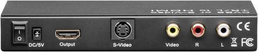 HDMI átalakító, HDMI kimenet, S-VHS bemenet, RCA bemenet, goobay AVS 41 AV