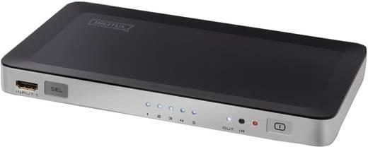 HDMI splitter, HDMI jel közösítő 5 bemenet/1 kimenet Digitus DS-45300