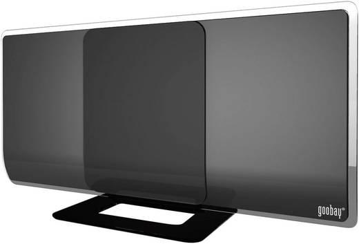 DVB-T lapos antenna, erősítés > 40 dB, Goobay DIA 42 PS